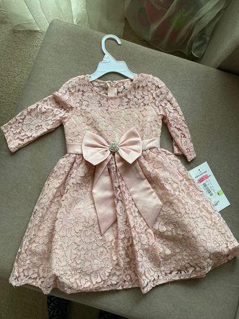 Нарядное роскошное платье 4 года сша