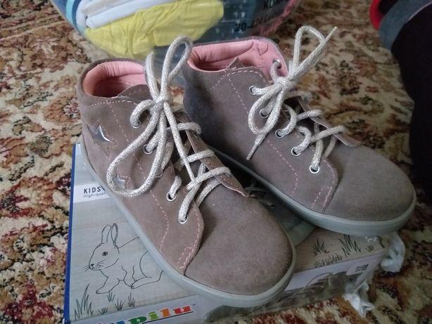 Skórzane buty Lupilu 28 18cm