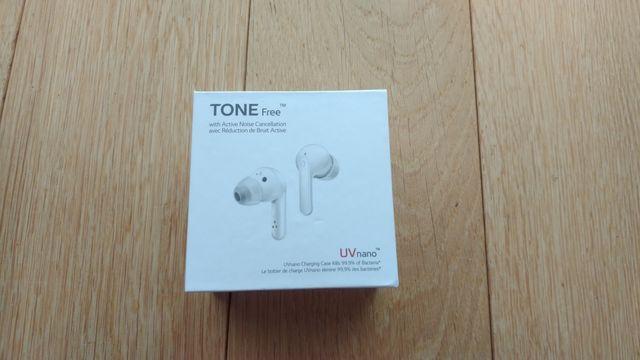 Słuchawki LG tone free HBS-FN7