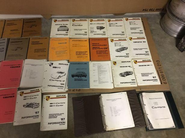 47 livros técnicos originais Porsche