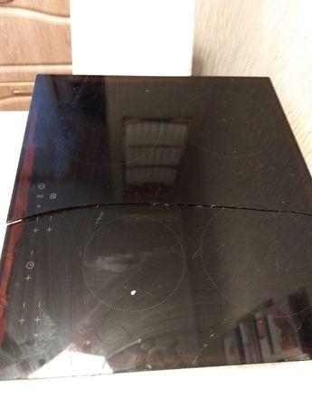 płyta indukcjna Electrolux/IKEA pęknięta szyba. poza tym 100% sprawna
