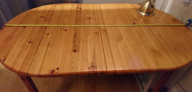 Nowa cena - Drewniany rozkładany stół do jadalni