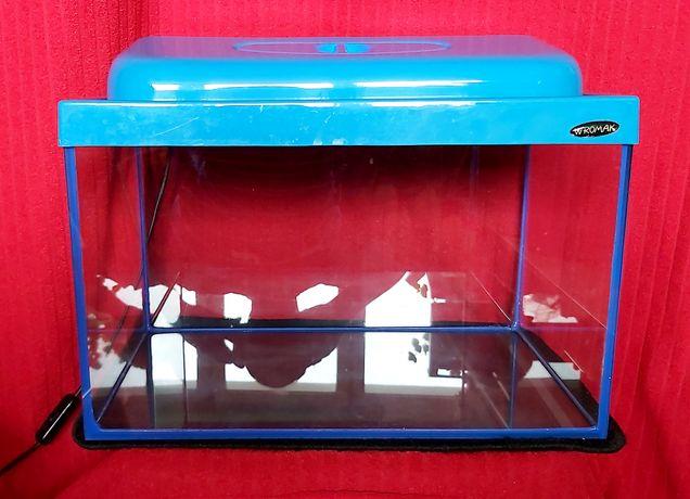 Akwarium 25 l z wyposażeniem