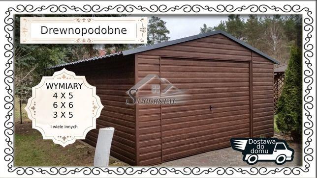 Garaże Drewnopodobne NA ZAMÓWIENIE