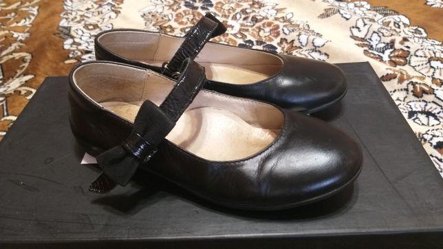 Туфли кожаные ТМ Лапси