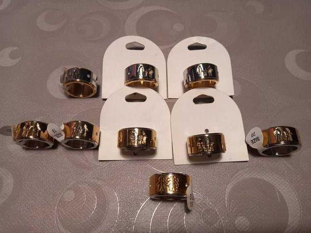 Anéis de aço inoxidável com Número de Filhos - vários tamanhos