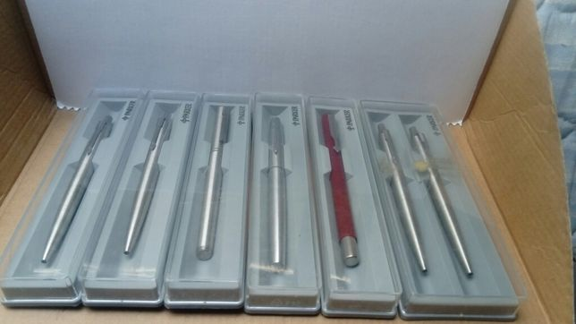 Coleção de canetas