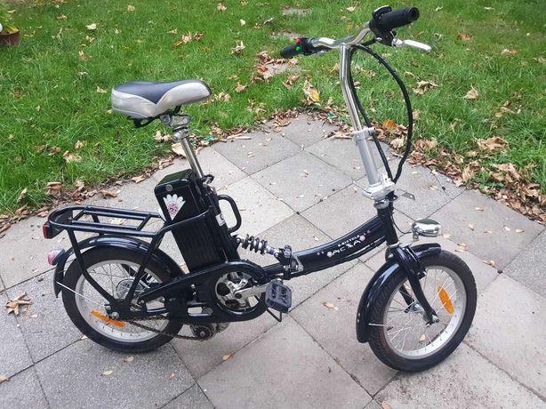 Bicicleta Elétrica dobrável E-Bike AC XA
