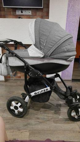 Дитяча коляска Дитяча універсальна коляска 2 в 1 Angelina Viper Spiral