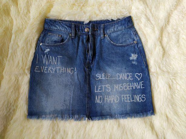 Продам джинсову спідницю юбку розмір 34