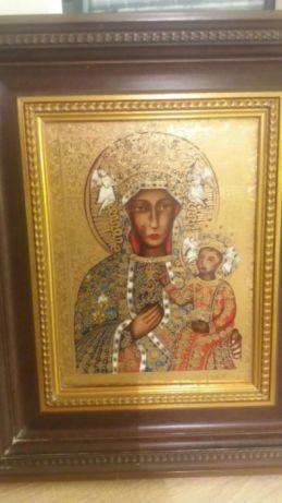 Obraz Religijny w zlocie