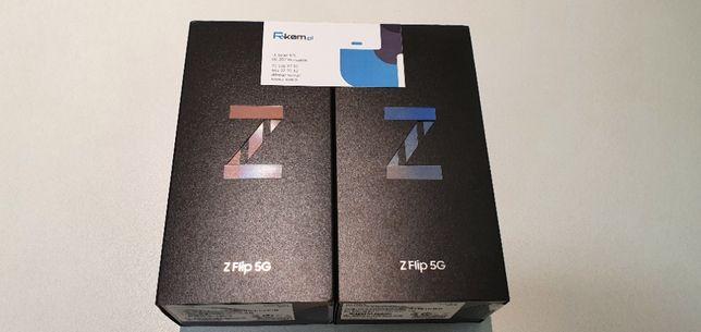Nowy SAMSUNG GALAXY Z FLIP 5G F707B 8/256GB FV 23% Gwarancja 24m