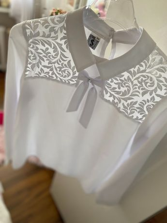 Bluzka biała r. 158