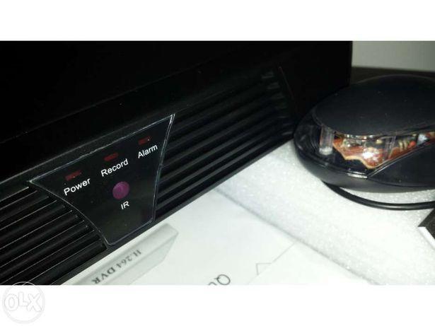 Nvr 4 canais gravador de video vigilância digital de cameras ip onvif