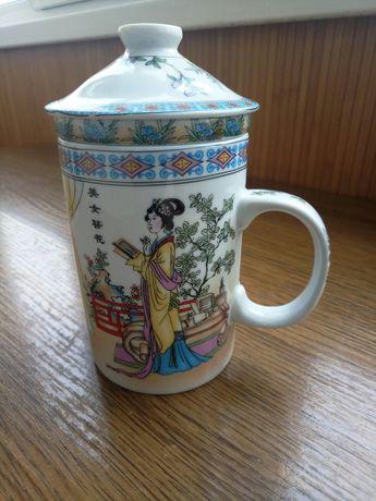Чашка заварник для трав