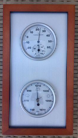 Stacja pogodowa. Termometr, barometr, higrometr