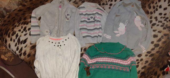 Кофточки/свитерки на 6-8 лет