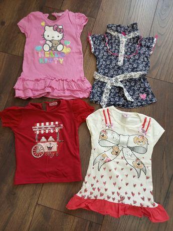 Пакет летних вещей (1,5-2) платья, шорты