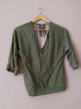 przesyłka za 1zł bluzka Mango S brokatowa, piękna