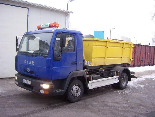 Wynajem kontenera na śmieci budowlane, gruz i inne odpady. Warszawa
