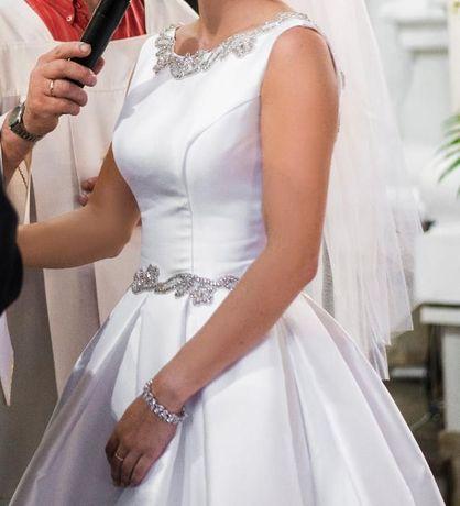 Suknia ślubna rozmiar 36 (S).