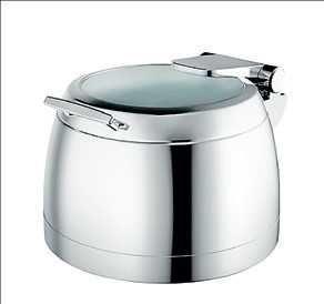 Panela de sopa elétrica em aço inox