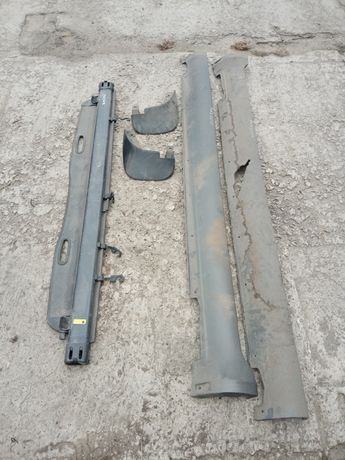 Полка-шторка багажника, брызговик, порог Hyundai Tucson