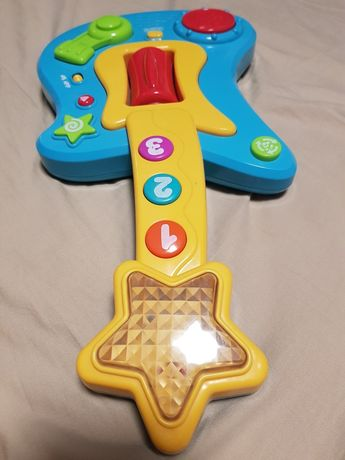 Gitara zabawka stan bdb