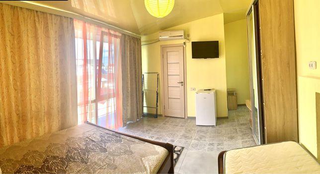 Затока, Кароліно-Бугаз, новий готель в 5 хв від моря, номера Люкс