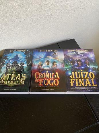 """A saga """"Crónicas da origem"""""""