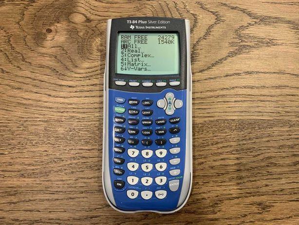 Calculadora Gráfica - Ti-84 Plus Silver Edition