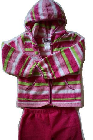 """Kolorowy, ciepły polarowy dres dla dziewczynki """"Sugar Cookies"""" - r. 98"""