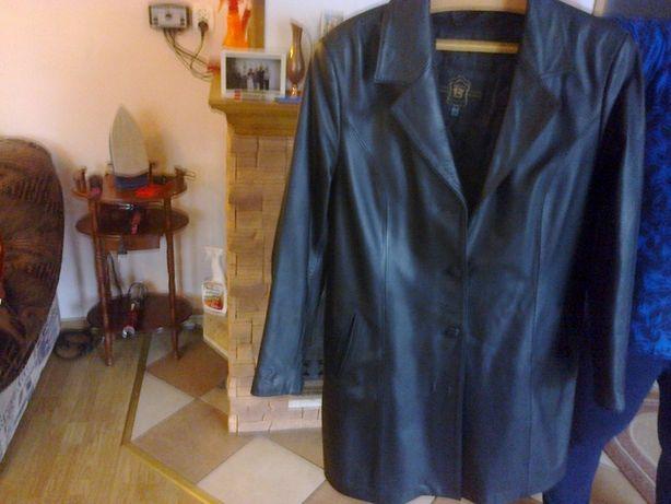 kurtka skórzana damska koloru czarnego rozmiar L
