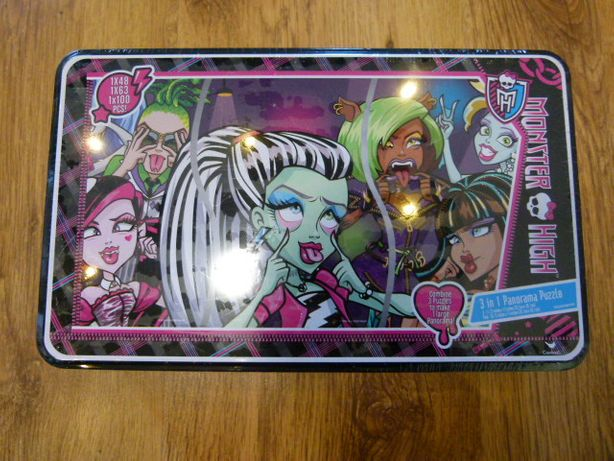 Nowe Puzzle Monster High panorami 211 elementów