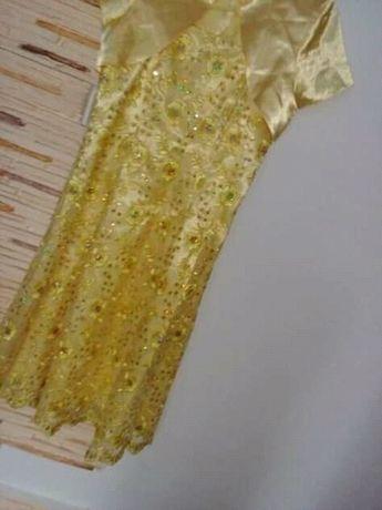 Sukienka złota..