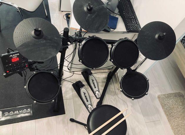 Perkusja elektroniczna - Alesis Turbo Mesh Kit + stołek