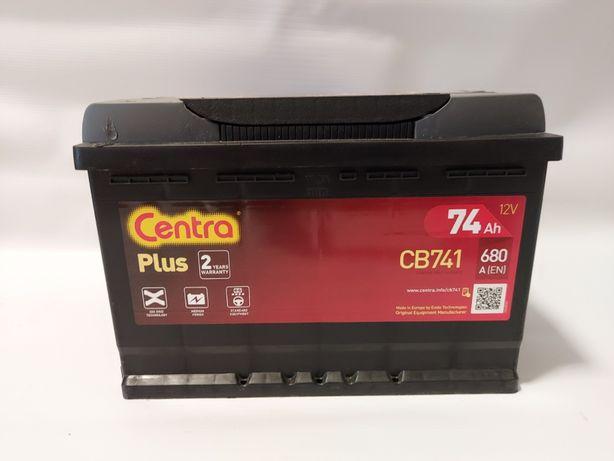 Akumulator Centra 12V CB741 74Ah 680A l+