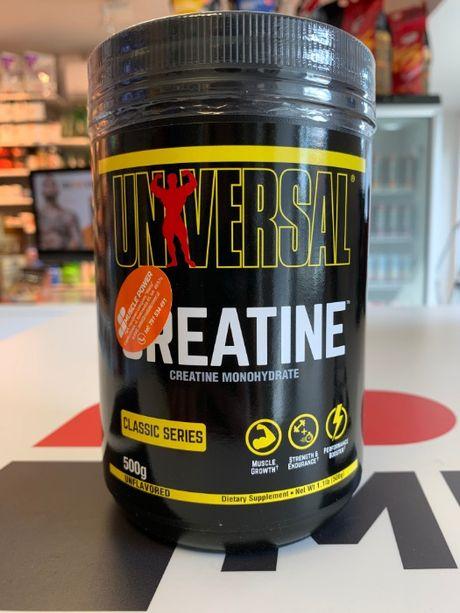 UNIVERSAL Creatine Micronized - 500g kreatyna monohydrat Muscle Power