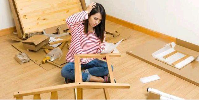 Сборка мебели, сборка кухни, сборщик мебели, разборка мебели