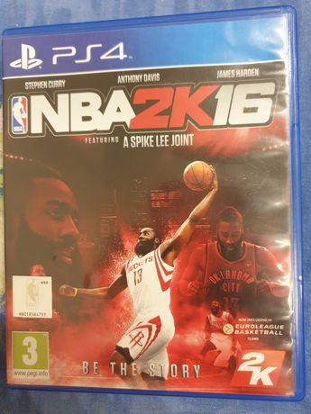 NBA 2K 16 be the story gra na PS4 na PlayStation 4