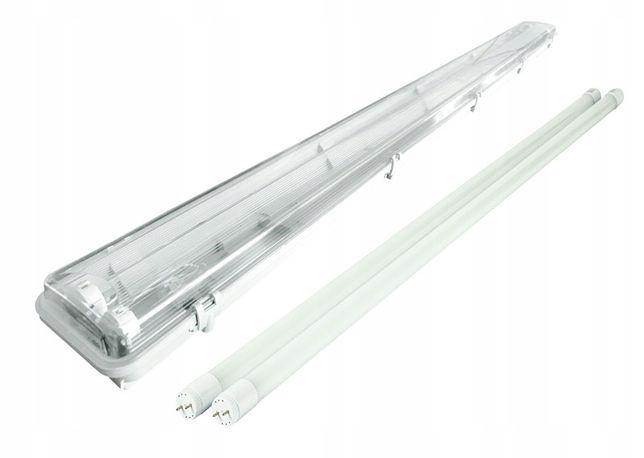 Oprawa hermetyczna lampa 120cm świetlówki LED CW