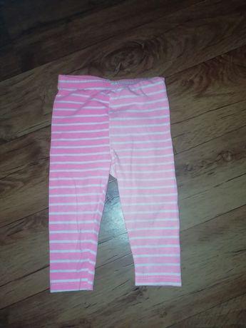Leginsy spodnie dziewczyka 80-86rozm