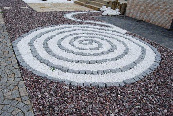 M Śnieżnobiałe otoczaki Thassos 3-6 cm 25 kg - poleca ogrodniczka