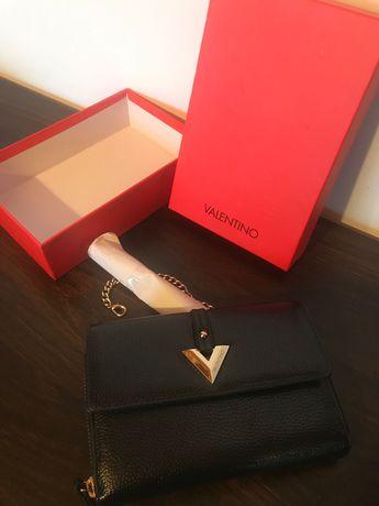 Valentino portfel , kopertówka na łańcuszku