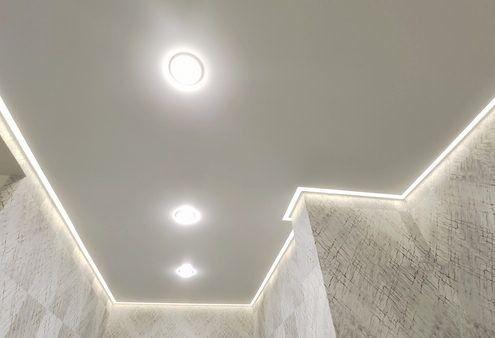 Сатиновые, матовые глянцевые натяжные потолки в Днепре без запаха