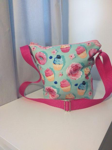 Dla dziecka prezent unikatowe torby listonoszkii ... handmade