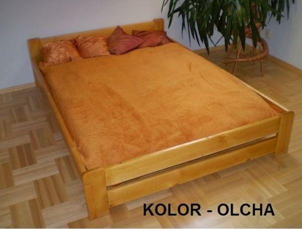 Łóżko 180x200 czarne olcha dąb orzech jasna sosnowe drewnianen