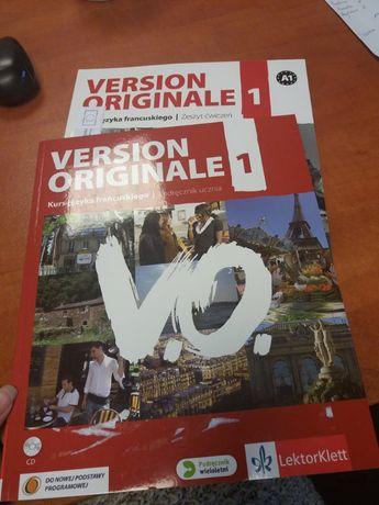 Podręcznik + ćwiczenia język francuski od podstaw