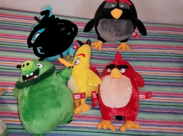 Peluches Angry Birds (Continente)