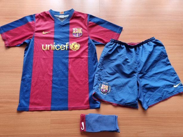 Camisola Barcelona + calção + meias